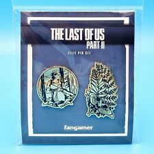 The Last of Us Part II 2 Ellie Edition & Moth Tattoo Enamel Pin Set **IN HAND**