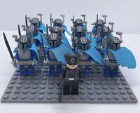 12x Death Watch Mandalorian Trooper Mini Figures (LEGO STAR WARS Compatible)