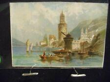 Victorian scrap # 6996 - EUROPEAN PORT