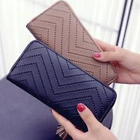 HOT Women Card Holder Long Wallet Clutch Tassel RFID Blocking Handbag Purse Tote
