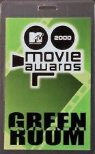 *** MTV *** 2000 MOVIE AWARDS - GREEN ROOM - LAMINATED BACKSTAGE PASS - PERFECT