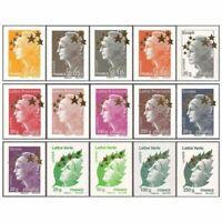 Timbres France Neufs Série Complète Marianne Maxi N°4662A à 4662Q Cote 150 €