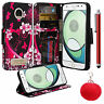 For Motorola Z2 Play Moto Z 2 Play PU Leather Design Wallet Flip Cover Case