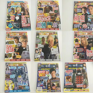 DOCTOR WHO ADVENTURES MAGAZINE COMIC -  BACK ISSUES  - 2007 TO 2012
