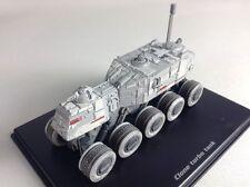 CLONE TURBO TANK STAR WARS diecast model in display case