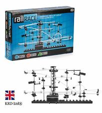 SPACE RAIL RACE 5.5m Track Auto Marble Run Toy Game Boys Girls Birthday Gift UK