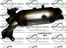 Catalytic Converter-Exact-Fit - Manifold Left Davico Exc CA 19263