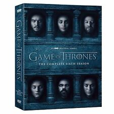New Game of Thrones: The Complete Sixth Season 6 (DVD, 2016) Free Shipping!