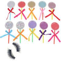 10 Set box for eyelash blank eyelashes plastic package Lollipop transparent  I4