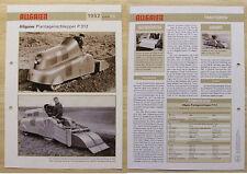 ALLGAIER Plantagen-Schlepper P 312 1952 Weltbild