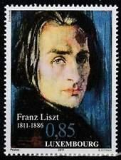 Luxemburg postfris 2011 MNH 1916 - Franz Liszt