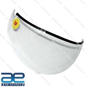 Studds Silicon Hard Coated Scratch Resistant Ninja Helmet Clear Visor