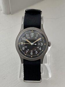 1982 Hamilton Military Watch Manual Wind CG-W-113