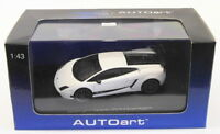 Autoart 1/43 Scale 54643 - Lamborghini Gallardo LP570-4 Superleggera - White