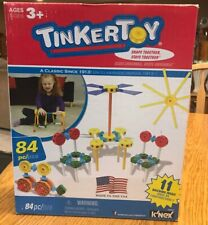 K'Nex Tinkertoy 84 Pieces, New/Open Box - Building Toys, Snaps Together, B11