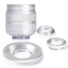 Fujian 50mm F1.4 CCTV Movie Lens+C Mount to Micro 4/3 m4/3 EPL5 EPM3 EPL7 OM-D