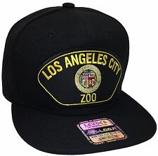 City Of Los Angeles ZOO Hat Color Black Snapback