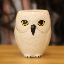 Harry Potter Hedwig Owl Emboss Ceramic New Cup Wizarding World Coffee Mug Gifts