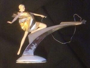 Franklin Mint Starlight In Platinum Art Deco ..