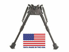 """HBRMS Harris Bipod - Extends from 6"""" to 9"""" - Notched legs - Swivels (Tilt)"""