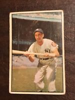 "1953 BOWMAN COLOR # 9 PHIL ""THE SCOOTER"" RIZZUTO- NEW YORK YANKEES - GOOD - HOF"