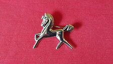 Vintage CORO sterling silver horse brooch