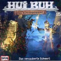HUI BUH NEUE WELT - 15/DAS VERZAUBERTE SCHWERT  CD HÖRSPIEL  NEU
