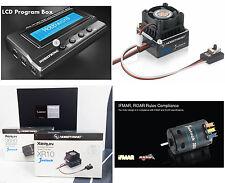 Hobbywing Sensored Brushless System Combo ESC  1600Kv Motor Crawler Drift