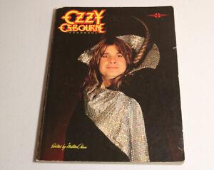 Rare 1985 Ozzy Osbourne Diary & Blizzard Guitar Tab Songbook Sheet Music