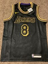 Lakers Nike Kobe Bryant Black Mamba Day Jersey Size Youth Medium RARE NWT!!