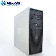 HP DC Desktop PC Computer Tower Windows 10 Intel 1.8GHz 8GB 500GB