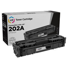 LD Compatible Replacement for HP 202A / CF500A Black Toner for M254dw & M281dw