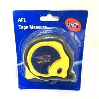 WEST COAST EAGLES AFL OFFICIAL FOOTY 8m TAPE MEASURE BUILDERS MEASURING TAPE