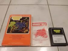 Wizard of Wor Atari 2600 Video Game With Box And Manual!