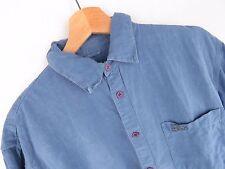 jy3293 Weird PESCE camicia maglietta originale Premium cotone lino blu taglia S