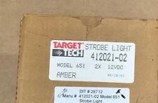 New Genuine Target Tech Strobe Light Amber 412021-02