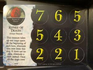 Runes of Death SR 125 | Pirates of the Frozen North | WizKids Super Rare | NM