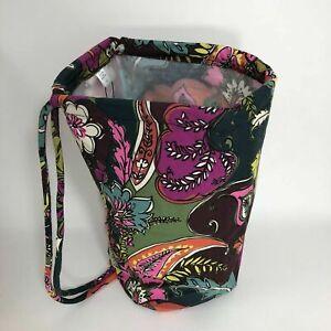 Vera Bradley Iconic Ditty Bag, Autumn Leaves, NWT