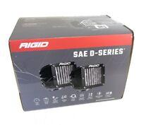 RIGID D-Series 504813  PRO DOT SAE LED Fog Light Set Pair J583 Compliant Street