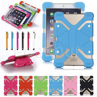 Adjustable Universal Silicon Shockproof Case Cover For Insignia Flex 10.1 Tablet