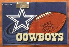"NFL Dallas Cowboys Rug Mat 20""x 30"" (Non Skid)"