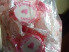 Just Married Pink Rock Sweets Wedding Favours - Celebrations appr 500 sweets