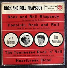 Elvis Presley Rock And Roll Rhapsody 1956 Original Ep A72 V 0068 Cond. Ex ++/VG