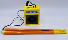 Vintage Nasta Hit Stix Electronic Drumsticks Portable 80s Toy 1988 TESTED WORKS