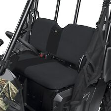 POLARIS RANGER MIDSIZE 2010-2014 400 500 570 800 BENCH SEAT COVERS COVER BLACK
