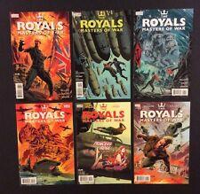 ROYALS MASTERS OF WAR #1-6 Comic Books FULL SERIES 2014 Vertigo DC 1st Prints NM