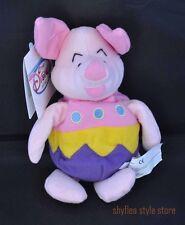 Easter Egg Piglet Mini Bean Bag Plush Disney Store Pooh's Friend New Tags Spring