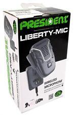 Presidente LIBERTY CB Microfono Wireless Cordless altoparlante Mic 6 PIN