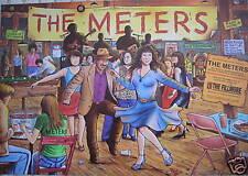 METERS Art Neville George Porter F828 Bill Graham FILLMORE POSTER Harry Rossit