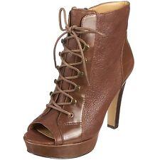 Nine West Womens Ankle Platform Boots - Size 8